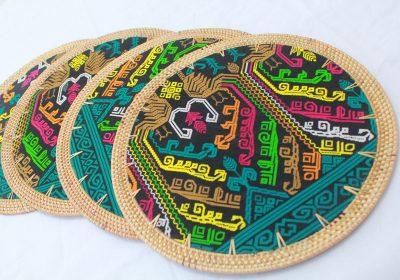 Round Placemat motif