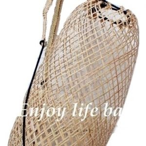 Anjat Net Natural Bag Rattan