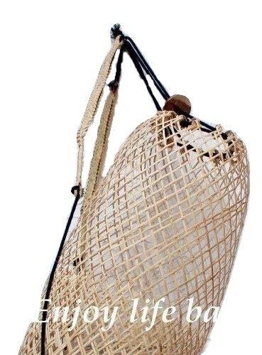 Anjat Net Natural Bag Rattan