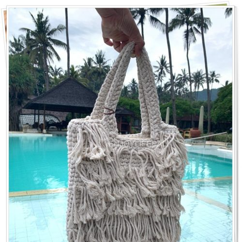 Dandelion Handbag Macrame