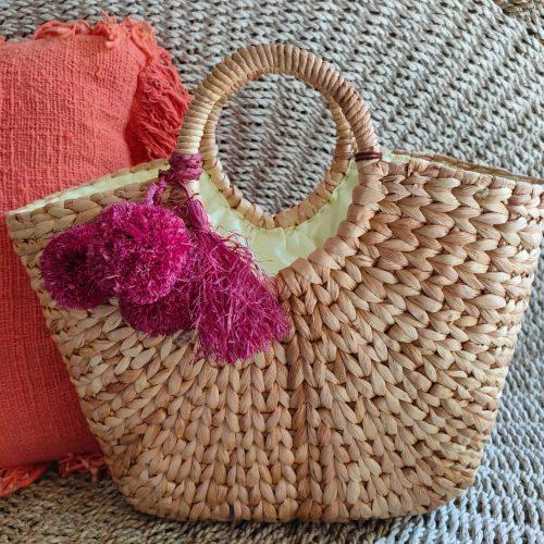 Hyacinth Brenda Linen Natural Bali