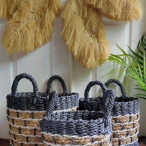 Rinjanin Round Brick Basket
