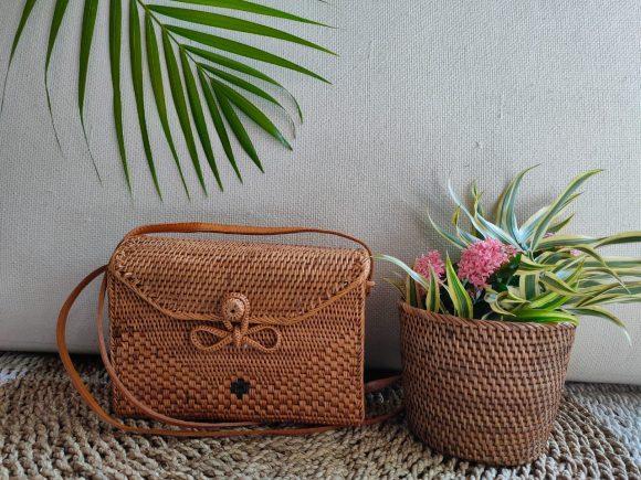 Envellope Bag With Linen