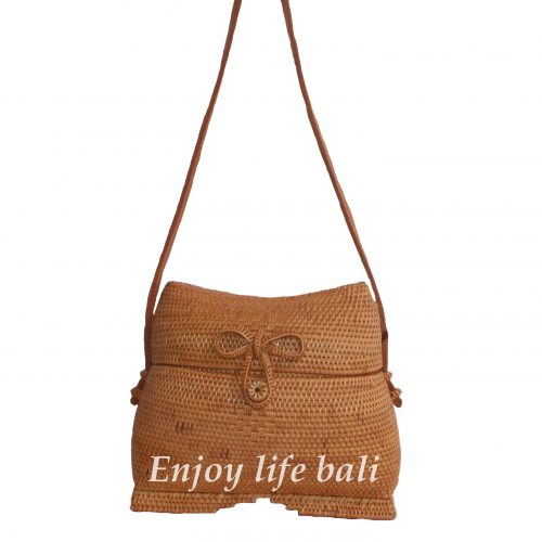 Indian Large Rattan Bag