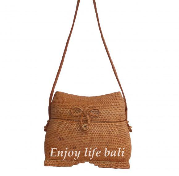 Indian Large Rattan Bag