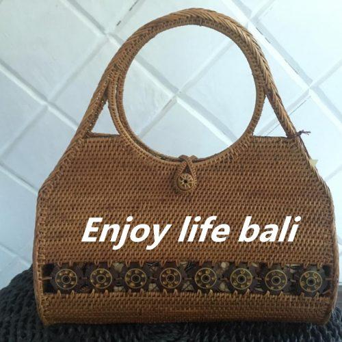 begonia batik handbag