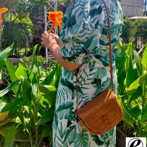 Hanna Rattan Bag