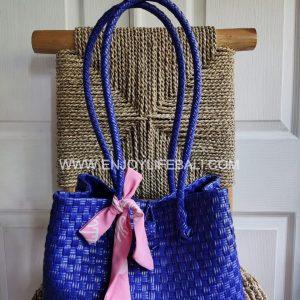 Victoria Light Blue Bag (L)